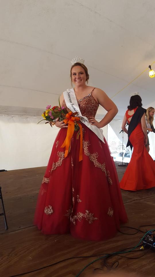 2018 Scarecrow Fest Queen Sami Vance